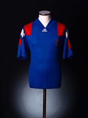 1992-94 France Home Shirt XL
