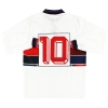 1992-94 Genoa Match Issue Away Shirt #10 L/S XL