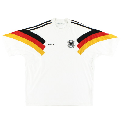 1992-94 Germany adidas Home T-Shirt XL