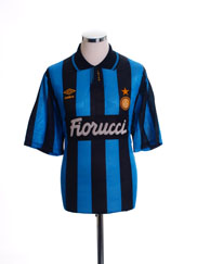 1992-94 Inter Milan Home Shirt *As New* XL