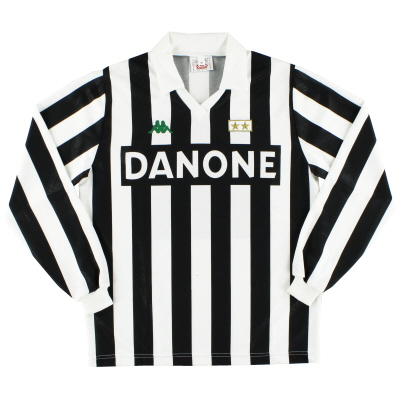 1992-94 Juventus Home Shirt #10 L/S M