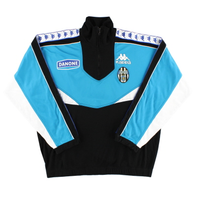1992-94 Juventus Kappa 1/4 Zip Training Top XL