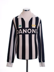 1992-94 Juventus Replica Home Shirt L/S *Mint* L