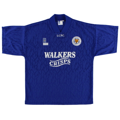 1992-94 Leicester Fox Leisure Home Shirt M