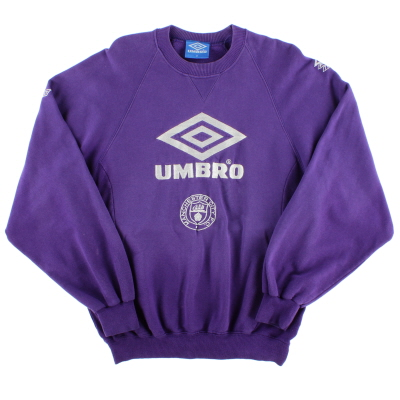 1992-94 Manchester City Umbro Sweatshirt M