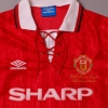 1992-94 Manchester United 'PL Champions' Home Shirt L