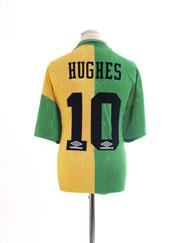 1992-94 Manchester United Third Shirt Hughes #10 XXL