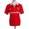 1992-94 Manchester United 'Premier League Champions' Home Shirt Giggs #11 S