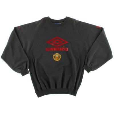 1992-94 Manchester United Umbro Training Jumper XL
