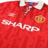 1992-94 Manchester United Umbro Home Shirt M