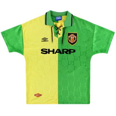 1992-94 Manchester United Umbro Newton Heath Third Shirt S