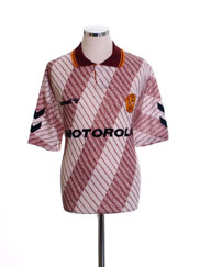 1992-94 Motherwell Away Shirt *Mint* XL