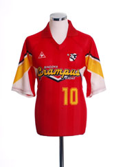 1992-94 Nagoya Grampus Eight Home Shirt #10 L