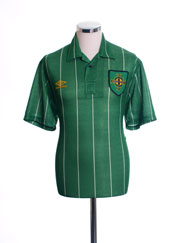 1992-94 Northern Ireland Home Shirt L