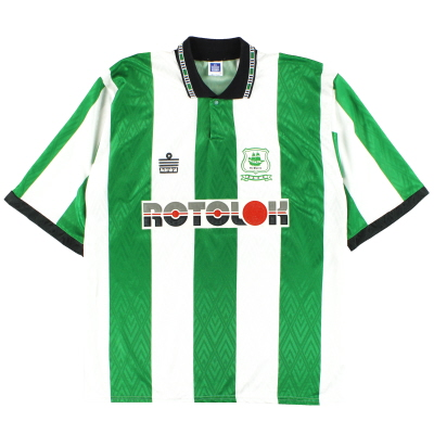 1992-94 Plymouth Admiral Home Shirt XL