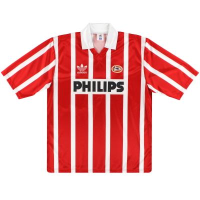1992-94 PSV Eindhoven adidas Home Shirt #10 L