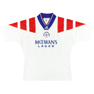 1992-94 Rangers adidas Away Shirt M/L