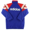 1992-94 Rangers adidas Padded Bench Coat *As New* L