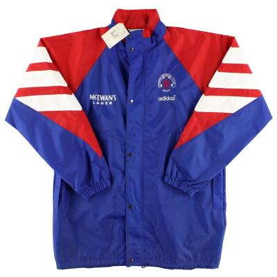 1992-94 Rangers adidas Rain Jacket *w/tags* L