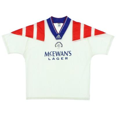 1992-94 Rangers Away Shirt XL