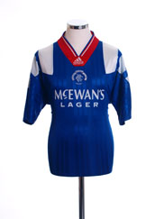 1992-94 Rangers Home Shirt Y