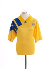 1992-94 Sweden Home Shirt S