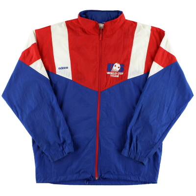 1992-94 USA adidas Shell Jacket M