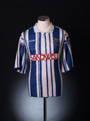 1992-93 West Brom Home Shirt L.Boys