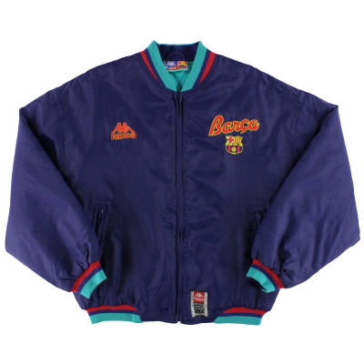 1992-95 Barcelona Kappa Bomber Jacket *Mint* M
