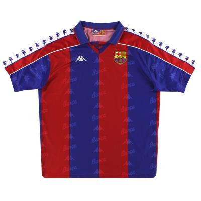 1992-95 Barcelona Kappa Home Shirt XL