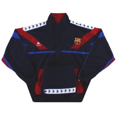 1992-95 Barcelona Kappa Tracksuit XL