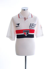1992 Sao Paulo Home Shirt #10 L