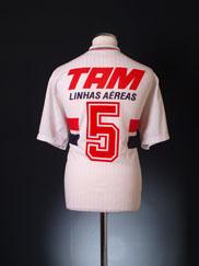 1993 Sao Paulo Home Shirt #5 L