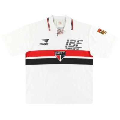 1992 Sao Paulo Penalty Home Shirt #10 (Rai) XL
