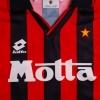 1993-94 AC Milan Lotto Home Shirt M