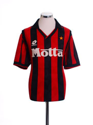 1993-94 AC Milan Home Shirt XL