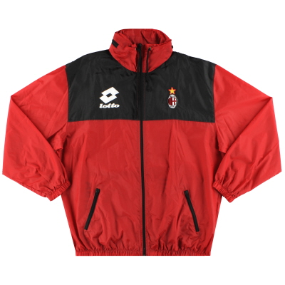 1993-94 AC Milan Lotto Rain Coat M