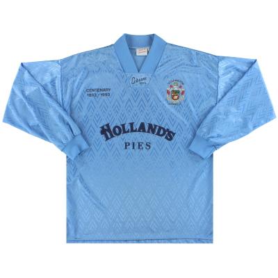 1993-94 Accrington Stanley Centenary Away Shirt L/S L