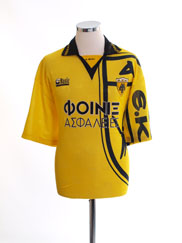 1993-94 AEK Athens Home Shirt XL