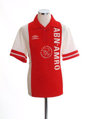 1993-94 Ajax Home Shirt S