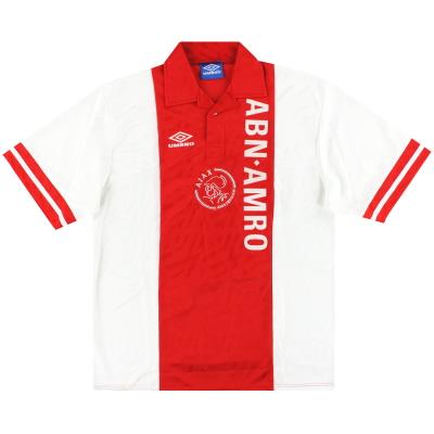 1993-94 Ajax Umbro Home Shirt XL