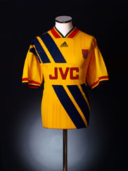 1993-94 Arsenal Away Shirt L.Boys