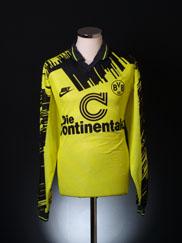 1993-94 Borussia Dortmund Home Shirt L/S XL