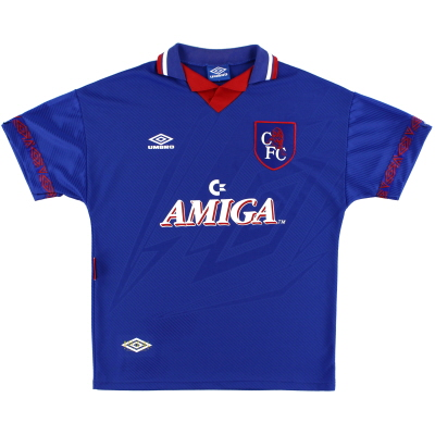 1993-94 Chelsea Home Shirt L