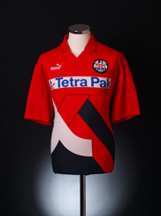 1993-94 Eintracht Frankfurt Home Shirt L