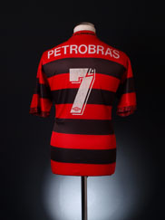 1993-94 Flamengo Home Shirt #7 L