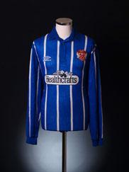 1993-94 Kettering Away Shirt L/S XL