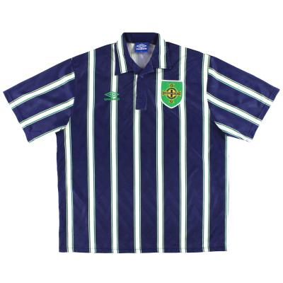 1993-94 Northern Ireland Umbro Away Shirt XXL