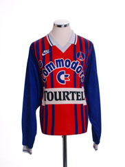 1993-94 Paris Saint-Germain Home Shirt L/S *Mint* XL