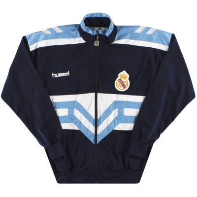 1993-94 Real Madrid Hummel Track Jacket S